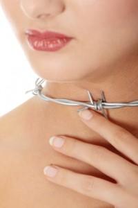 Throat pain concept