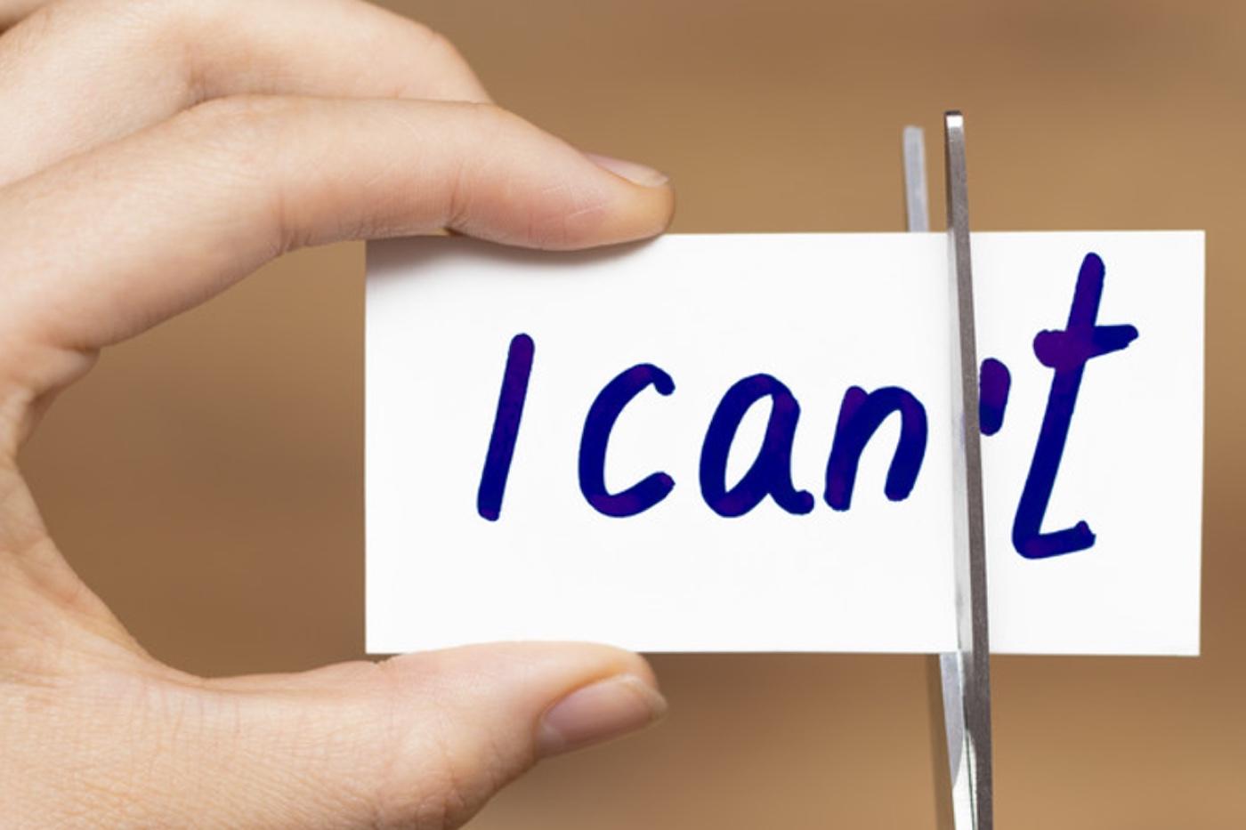 Reframe limiting beliefs
